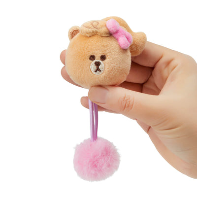 MINI CHOCO Pom-pom Hair Tie
