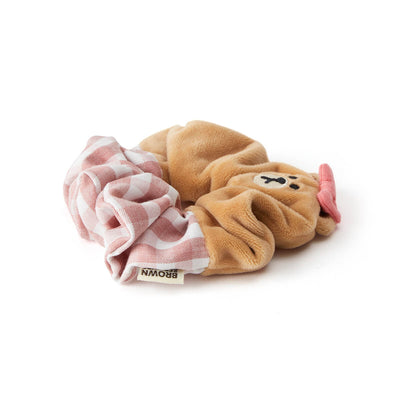 LINE FRIENDS CHOCO Scrunchie Hair Tie
