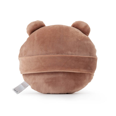 BROWN Flat Face Cushion
