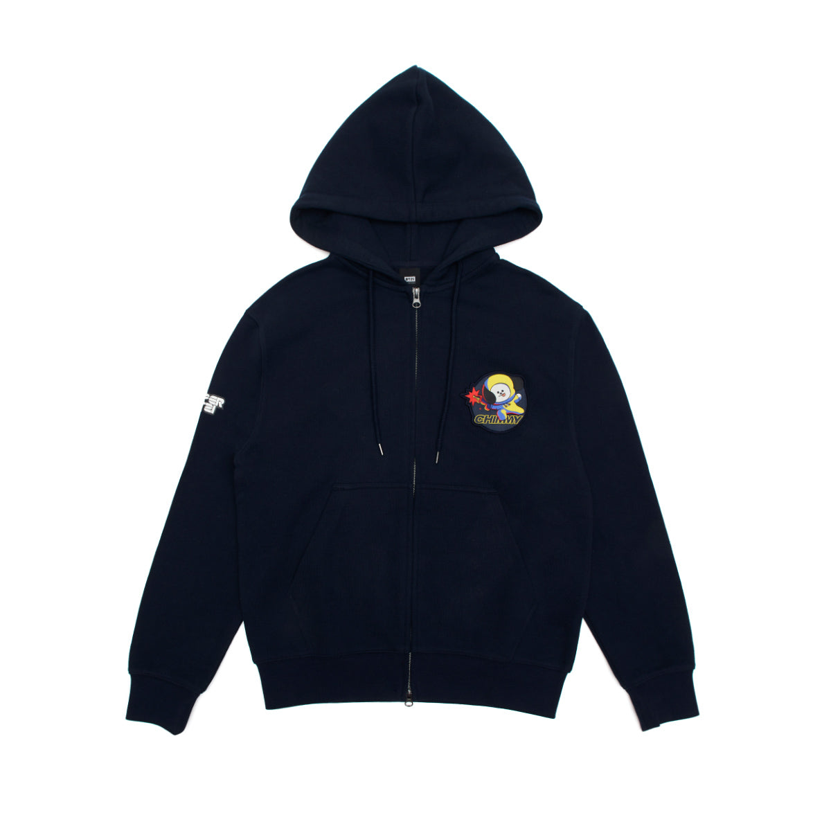 BT21 CHIMMY Space Squad Zip Up Hoodie