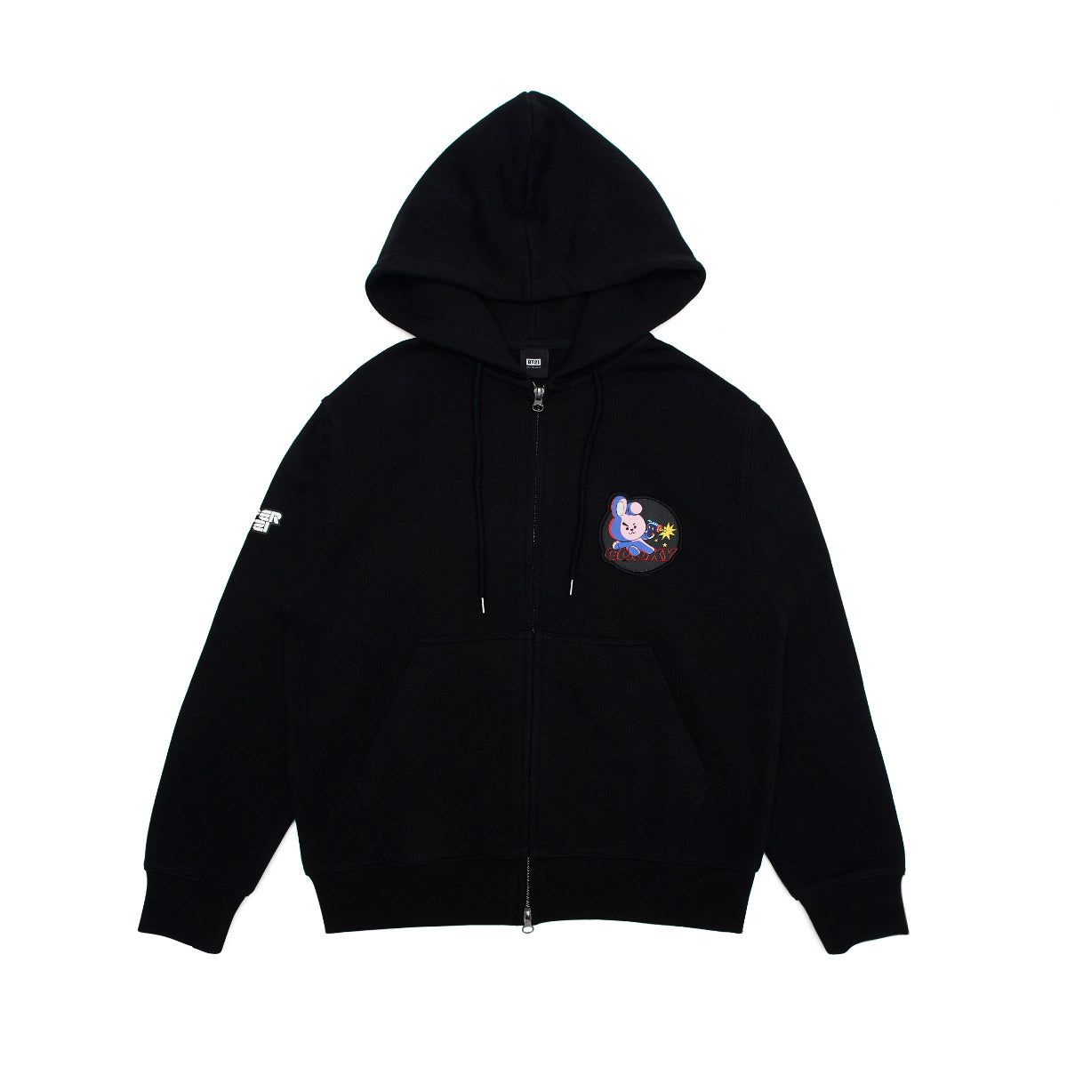 BT21 COOKY Space Squad Zip Up Hooded