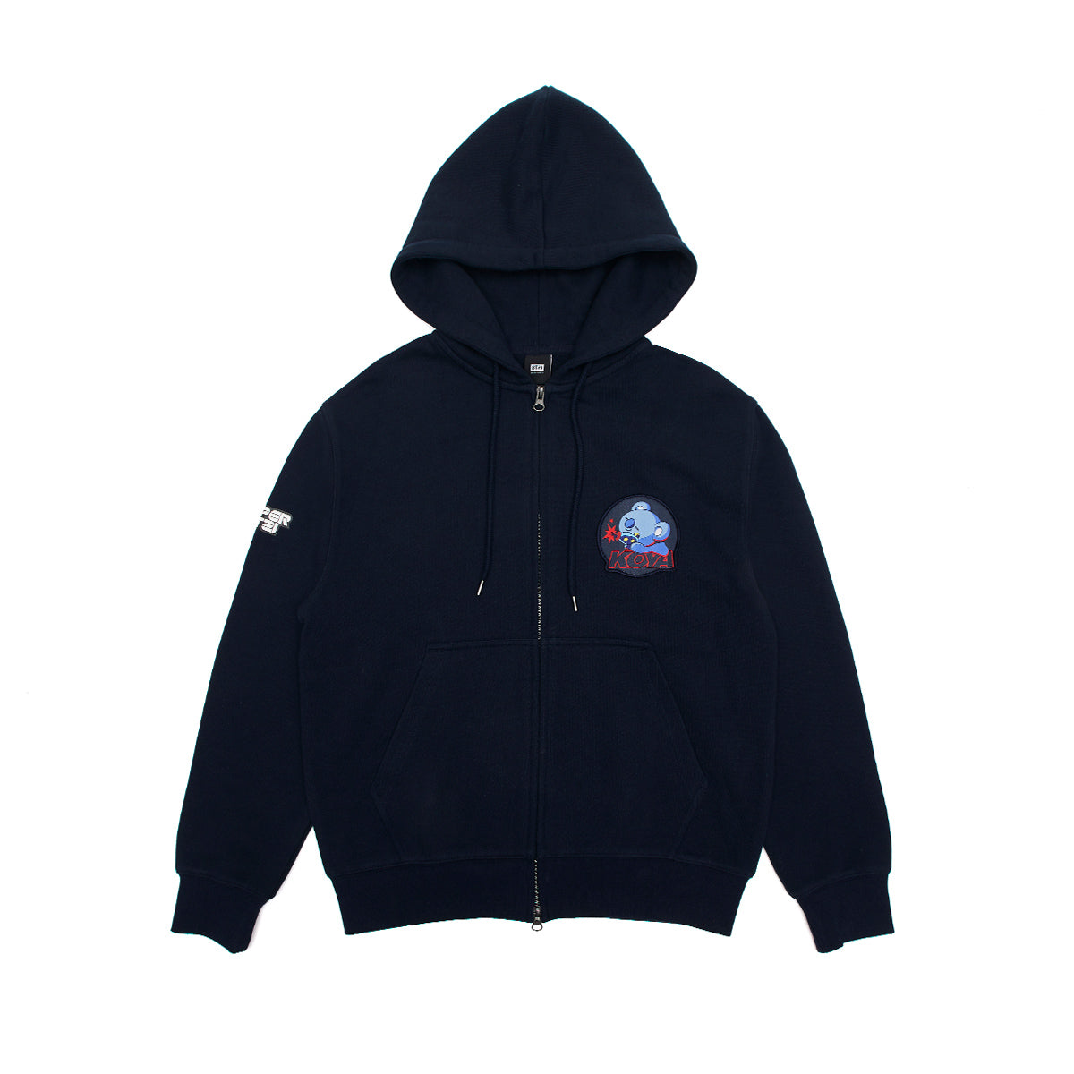 BT21 KOYA Space Squad Zip Up Hoodie