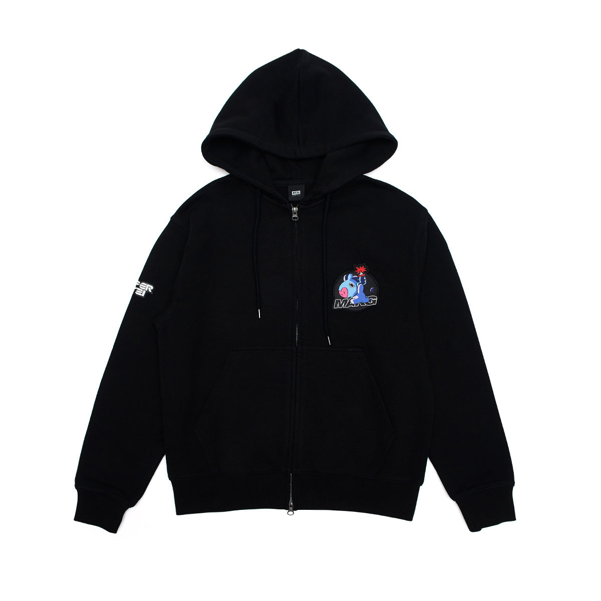 BT21 MANG Space Squad Zip Up Hooded