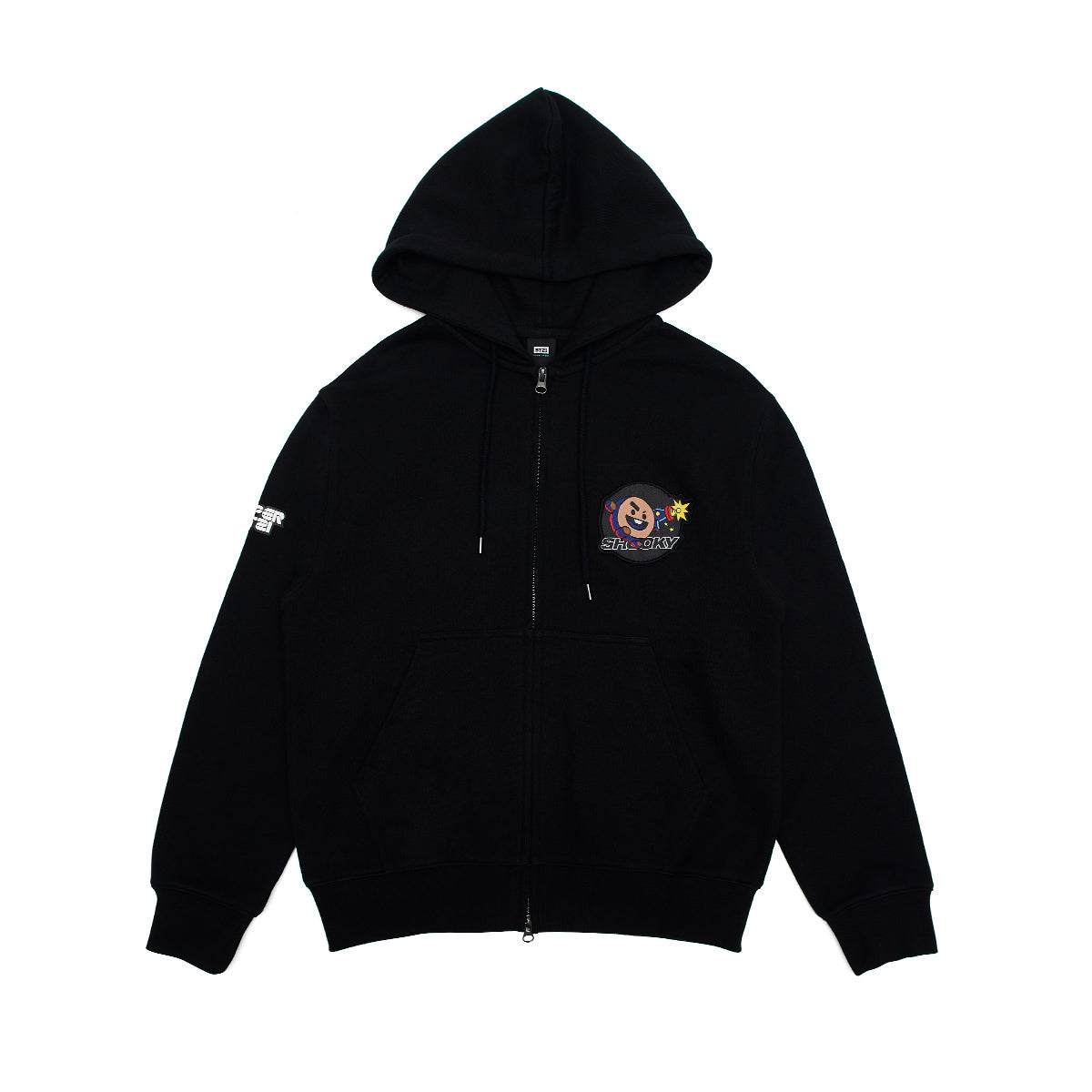 BT21 SHOOKY Space Squad Zip Up Hooded