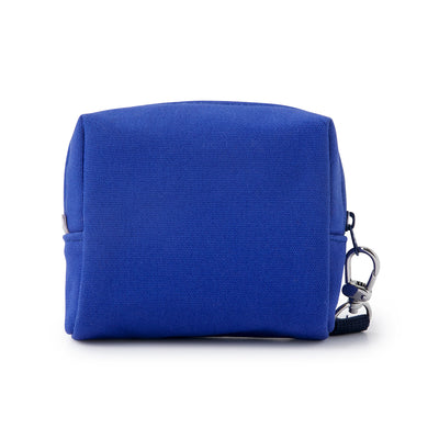 BROWN & FRIENDS Piggy Back Square Structured Pouch Blue