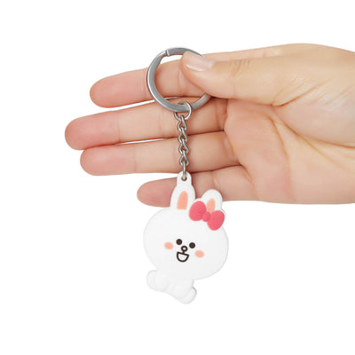 LINE FRIENDS CONY MINI FRIENDS Silicone Key Chain