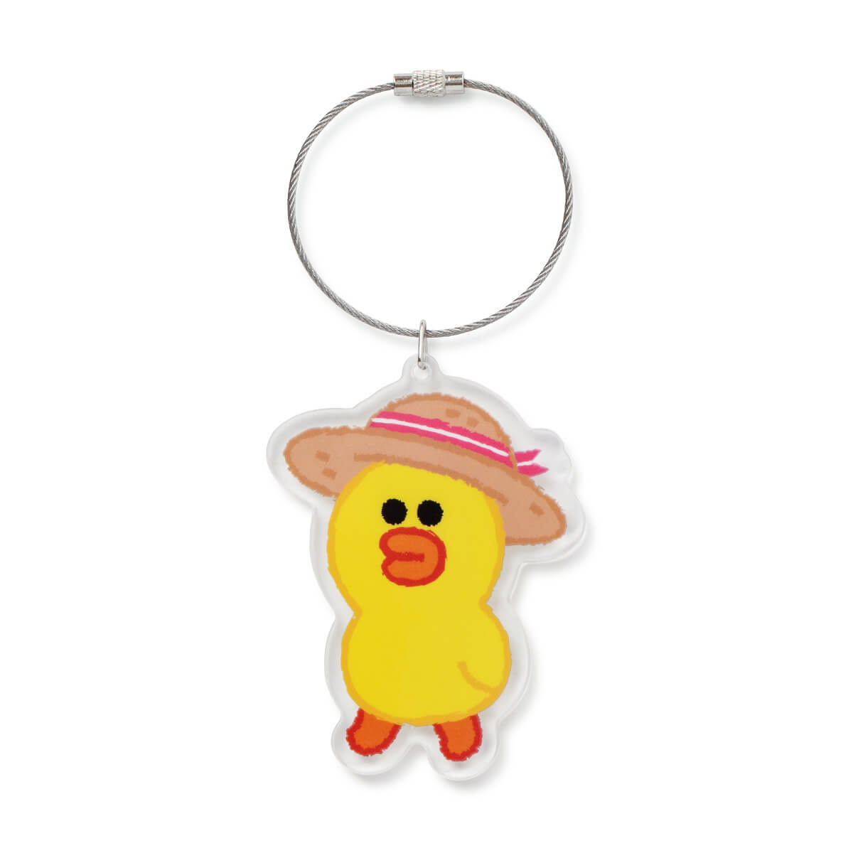 LINE FRIENDS SALLY Sweet Breeze Acrylic Keychain