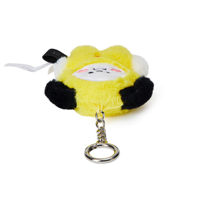 BT21 CHIMMY Baby Flat Fur Doll Keyring 3.9""