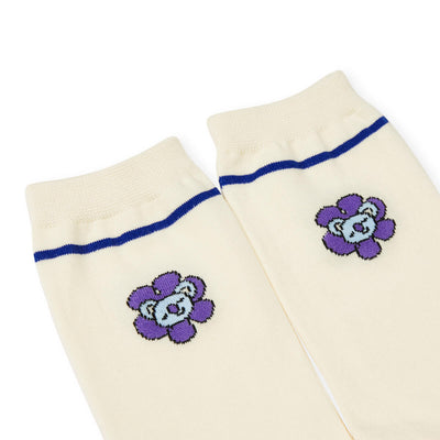BT21 KOYA 20 FLOWER Mid Socks 2 PC Set