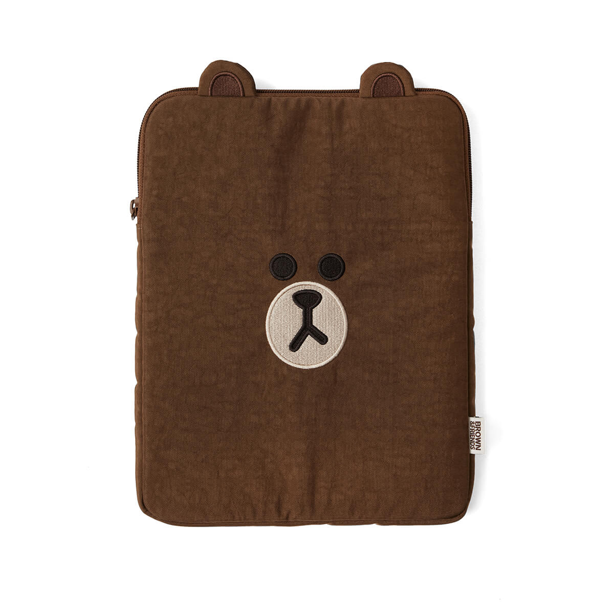 "LINE FRIENDS BROWN Nylon Tablet Sleeve (11"")"