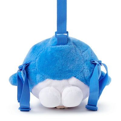 SHARK BROWN Kids Plush Backpack