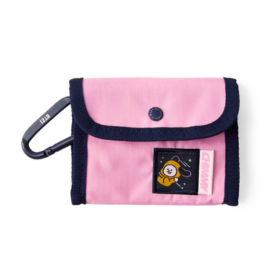 BT21 CHIMMY SPACE WAPPEN Ripstop Pouch