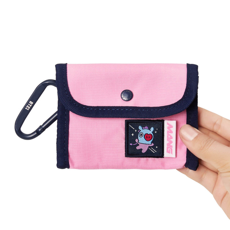 BT21 MANG SPACE WAPPEN Ripstop Pouch