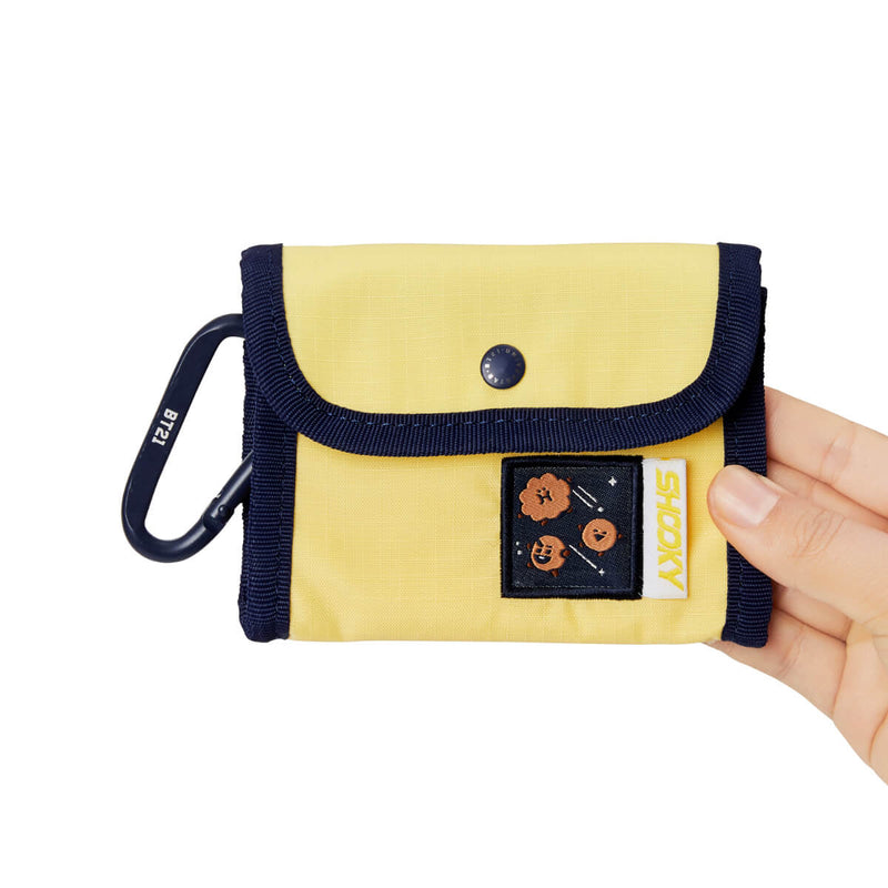 BT21 SHOOKY SPACE WAPPEN Ripstop Pouch