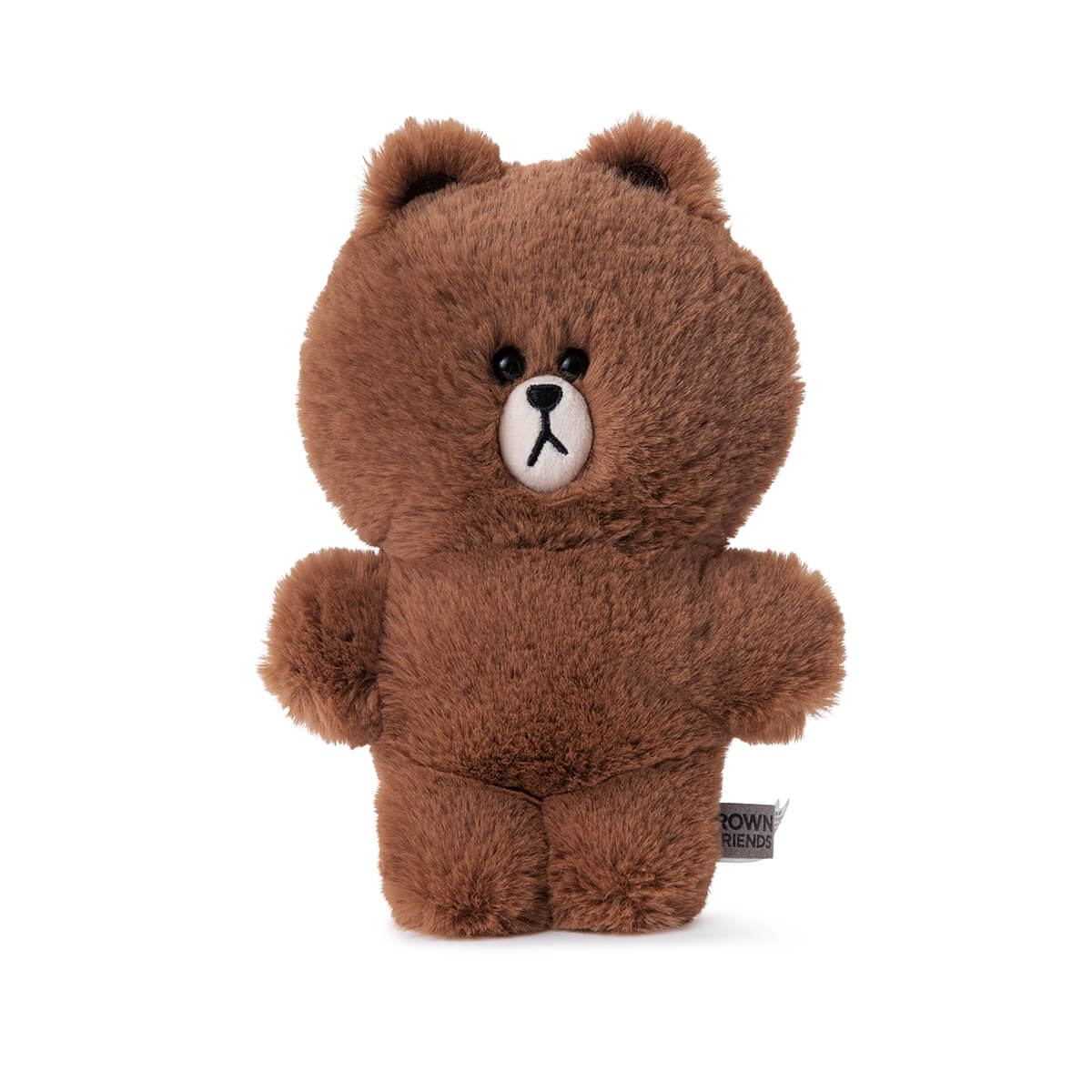 LINE FRIENDS BROWN Flat Fur Standing Plush