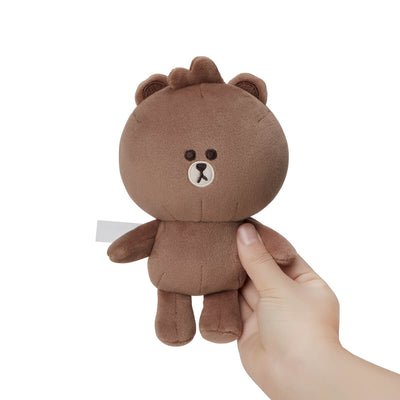 LINE FRIENDS MINI BROWN Standing Doll 6""