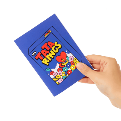BT21 TATA Sweet Mini Notebook