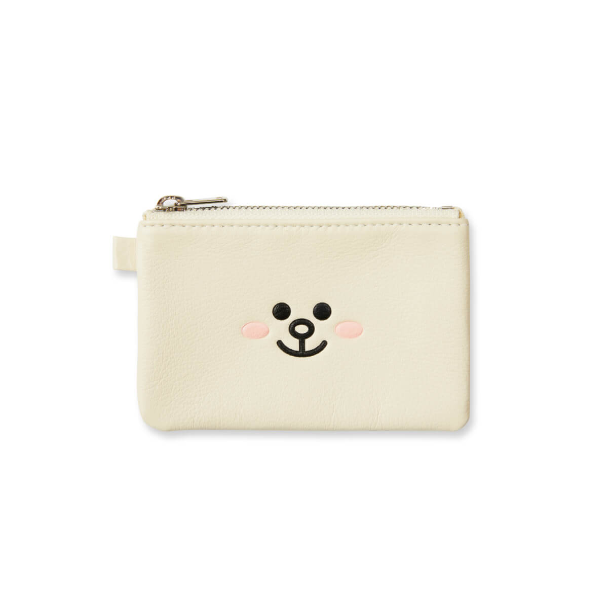 LINE FRIENDS CONY Soft Genuine Leather Mini Pouch