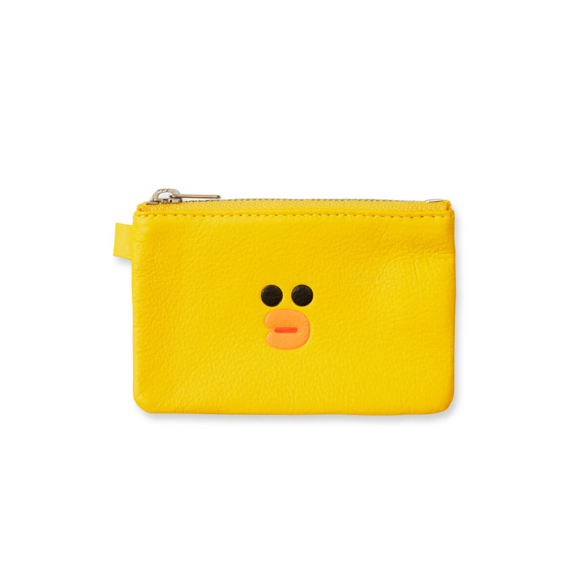 LINE FRIENDS SALLY Soft Genuine Leather Fold Wallet