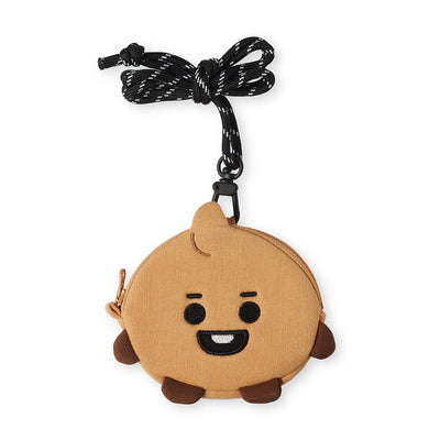 BT21 SHOOKY Baby Necklace Mini Pouch