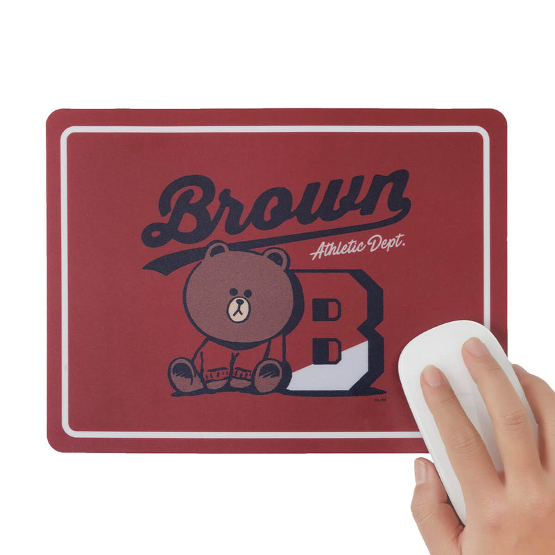 BROWN University Mouse Pad Red