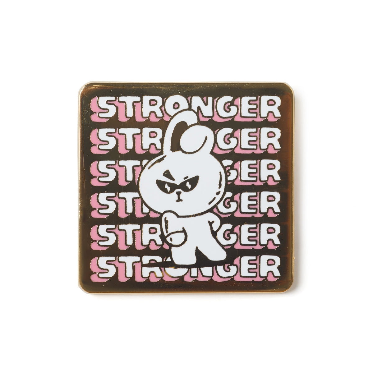 BT21 COOKY Music Metal Badge
