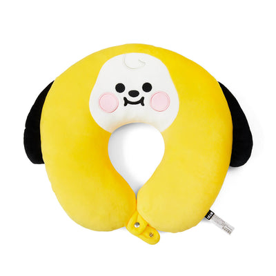 BT21 CHIMMY BABY Travel Neck Pillow w/ Snap Fastener