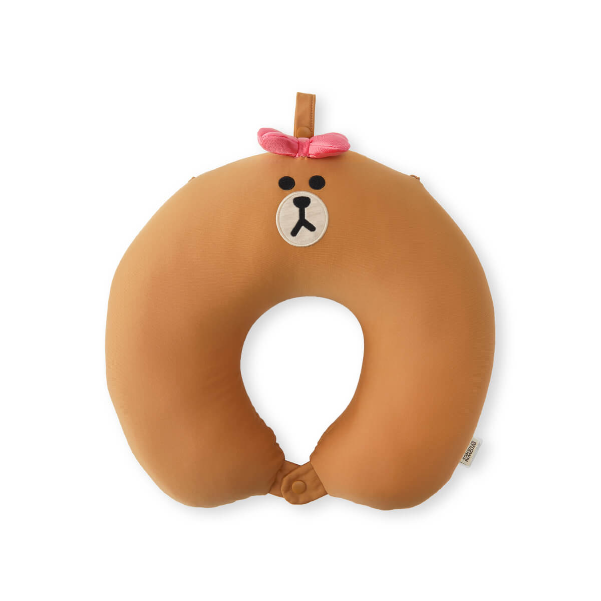 LINE FRIENDS CHOCO 2 in 1 Beads Neck Cushion