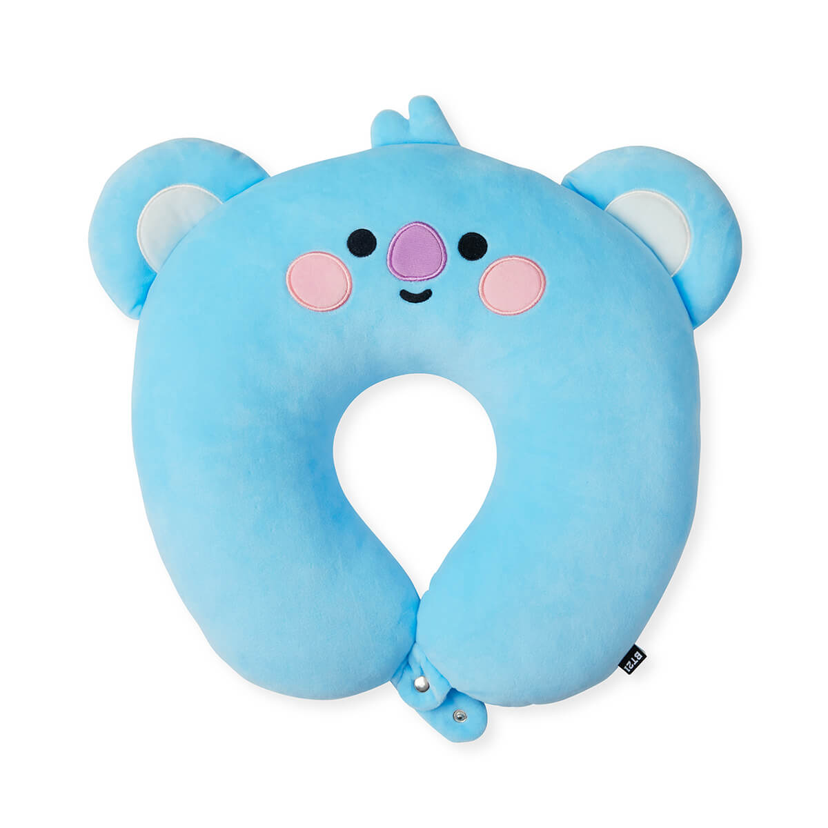 BT21 KOYA BABY Travel Neck Pillow w/ Snap Fastener