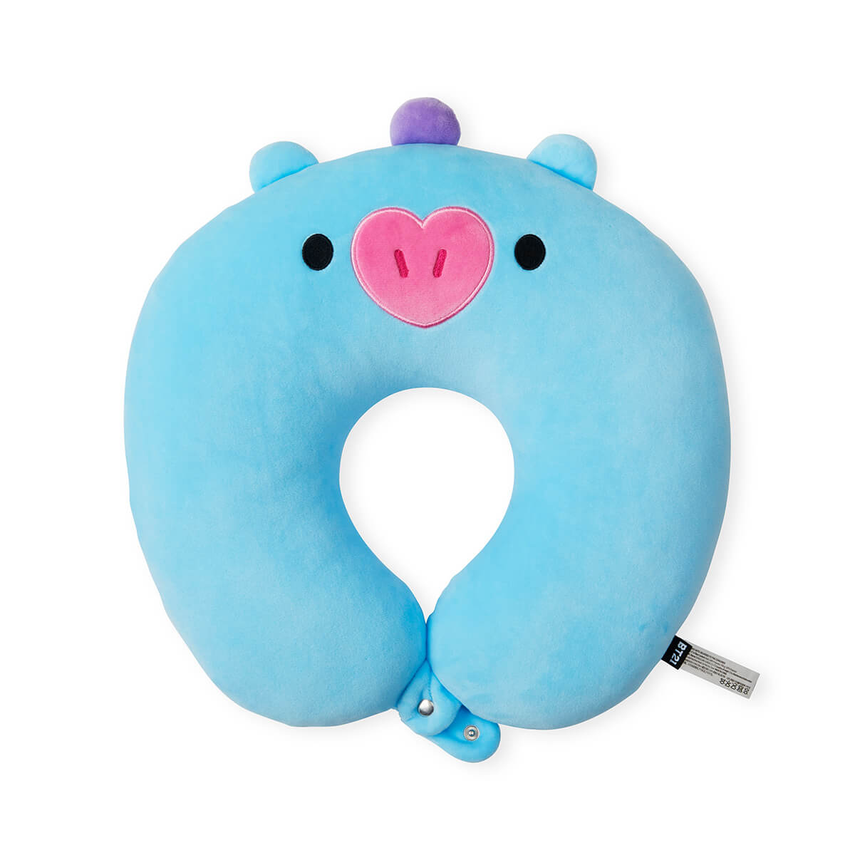 BT21 MANG BABY Travel Neck Pillow w/ Snap Fastener