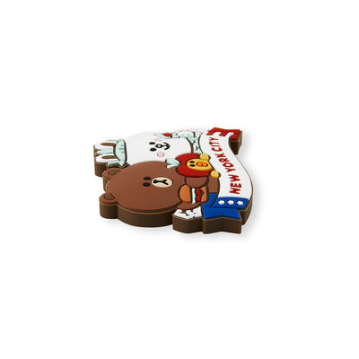 LINE FRIENDS NY City Edition Silicone Magnet