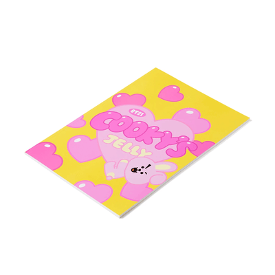 BT21 COOKY Sweet B5 Rulled Notebook
