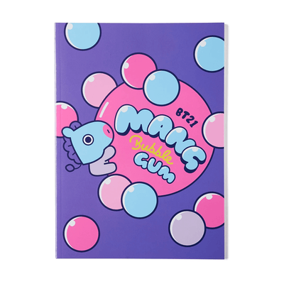 BT21 MANG Sweet B5 Rulled Notebook