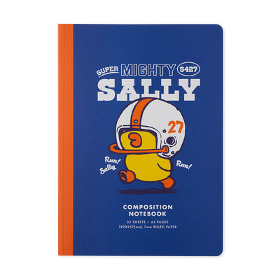 LINE FRIENDS SALLY University B5 Ruled Note
