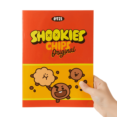 BT21 SHOOKY Sweet B5 Rulled Notebook