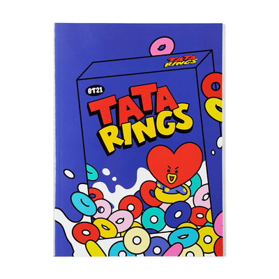 BT21 TATA Sweet B5 Ruled Notebook