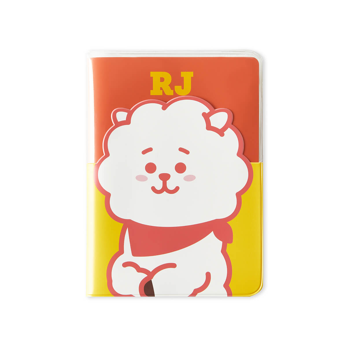 BT21 RJ Colorful Clear Passport Case
