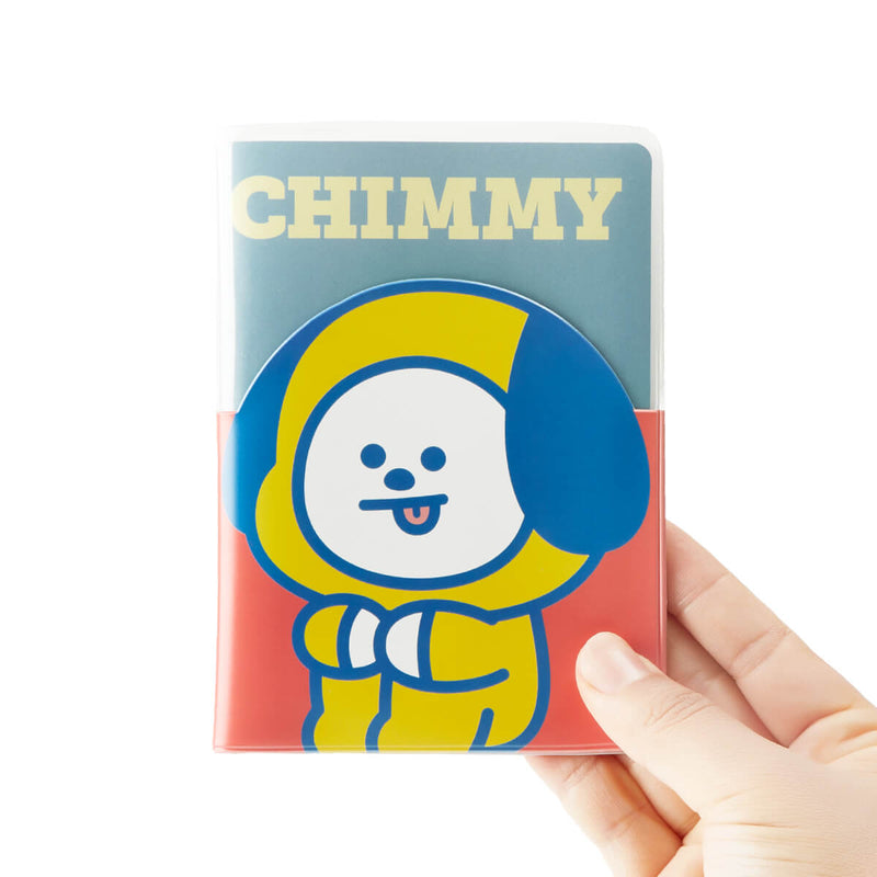 BT21 CHMMY Colorful Clear Passport Case