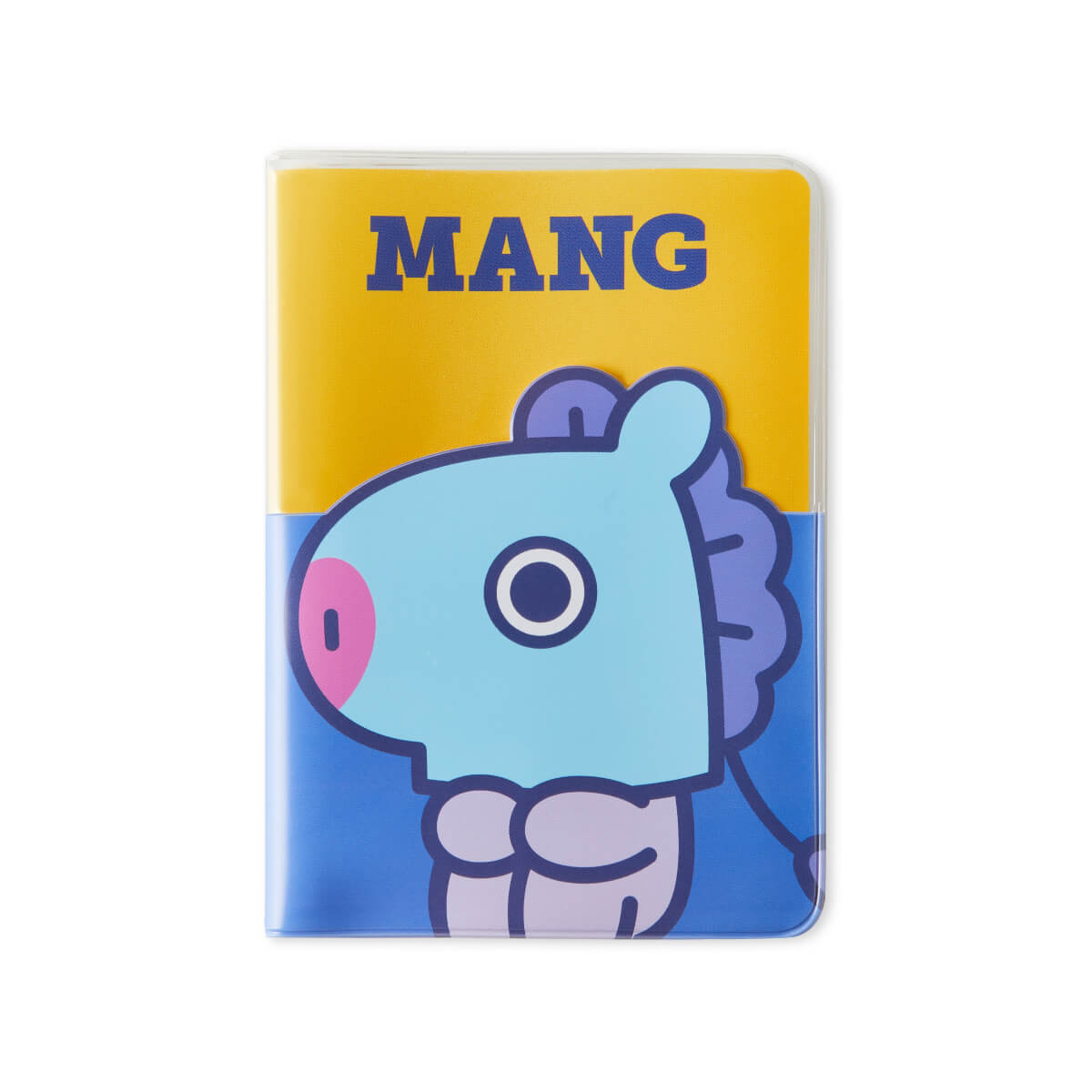 BT21 MANG Colorful Clear Passport Case