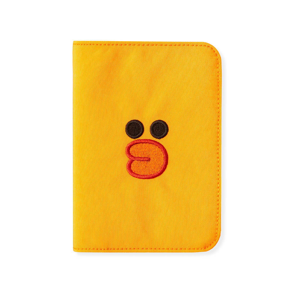 LINE FRIENDS BROWN & FRIENDS SALLY Washed Nylon Passport Cover