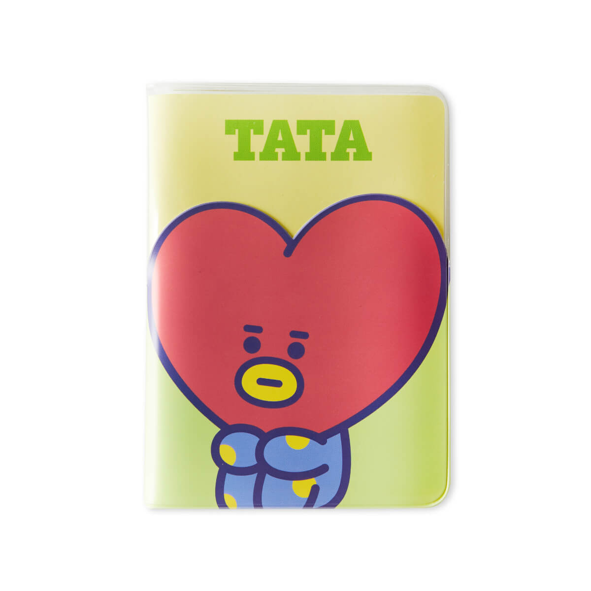 BT21 TATA Colorful Clear Passport Case