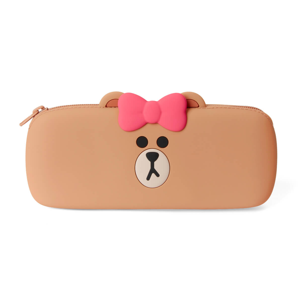 LINE FRIENDS CHOCO Silicone Pencil Case