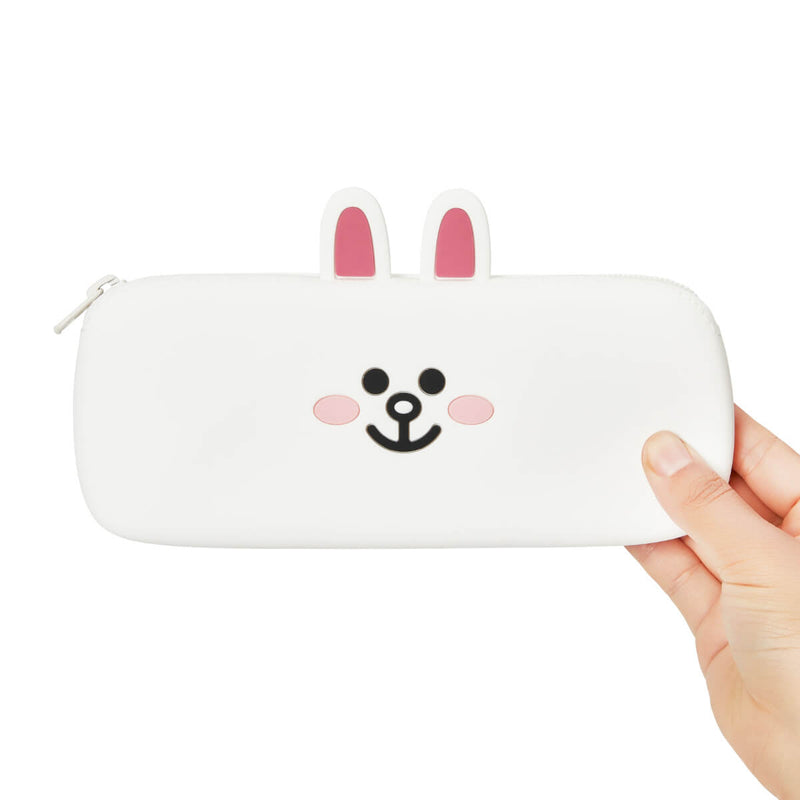 LINE FRIENDS CONY Silicone Pencil Case