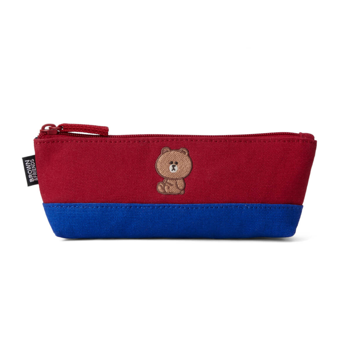 BROWN 20 University Pencil Case Red