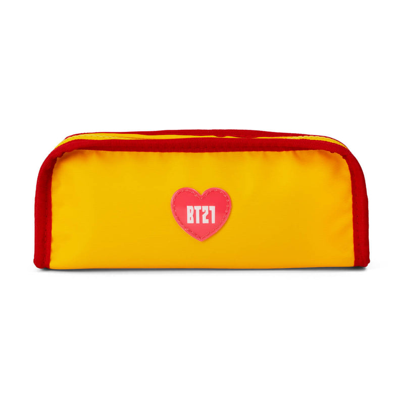 BT21 TATA Heart Pencil Case