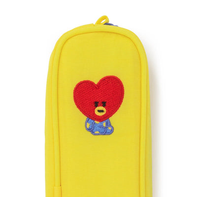 BT21 TATA Embroidered Slim Pencil Case
