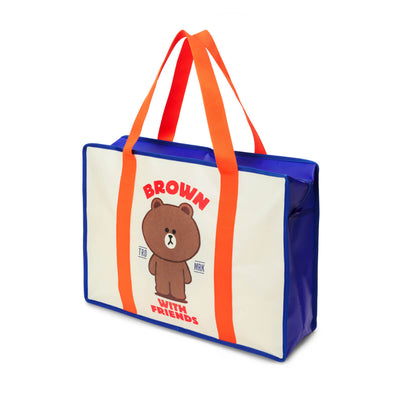 LINE FRIENDS BROWN Picnic Bag (L)