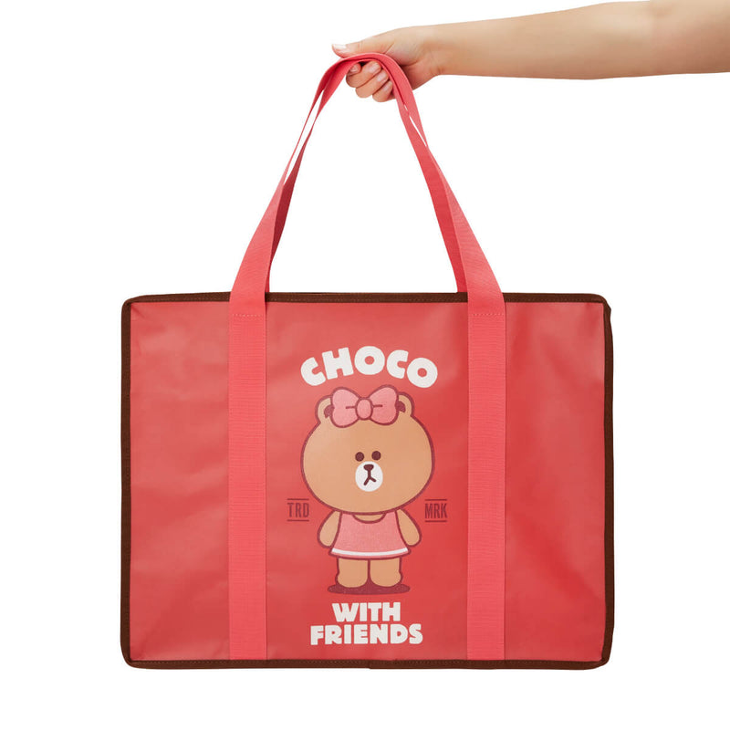 LINE FRIENDS CHOCO Picnic Bag (L)