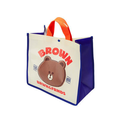 LINE FRIENDS BROWN Picnic Bag (M)
