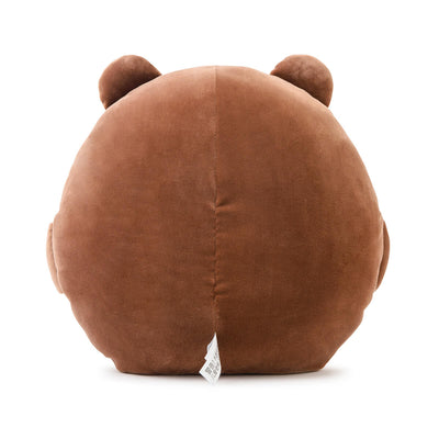 LINE FRIENDS BROWN Pong Pong Cushion 11.8""